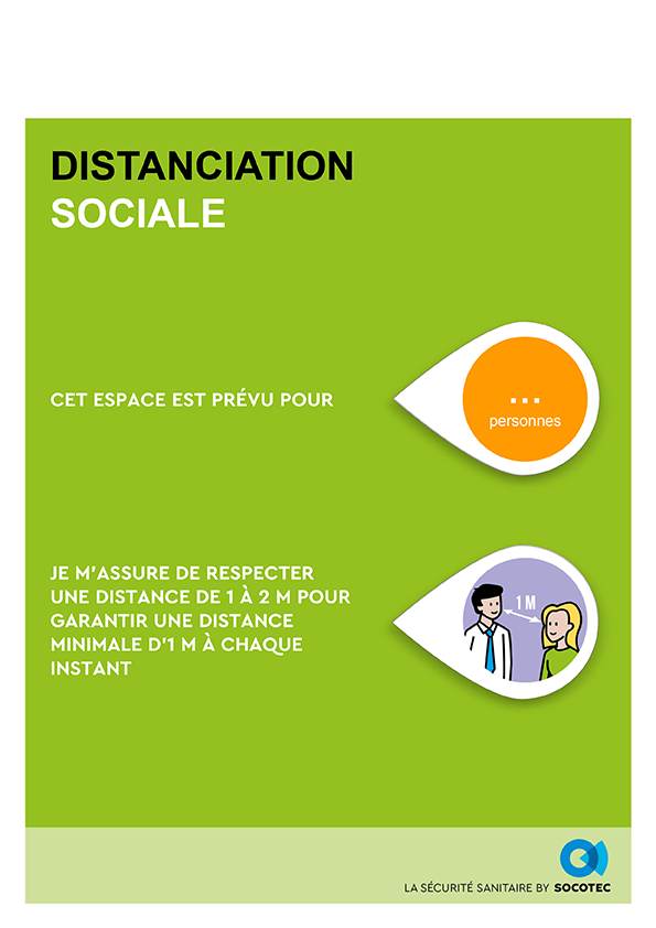 SOCOTEC - BUSINESS READY - Distanciation sociale - Espace