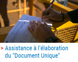 "SOCOTEC - Assistance à l'élaboration du ""Document Unique"""